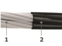 0.6/1 kV unarmoured aluminum conductor single core cables - Al/XLPE/PVC