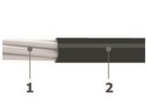 0.6/1 kV pvc coverd aluminum cables - Al/PVC