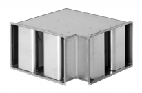 Rectangular Curved Silencer
