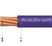 450/750 V PVC insulated single core wires - Cu/PVC
